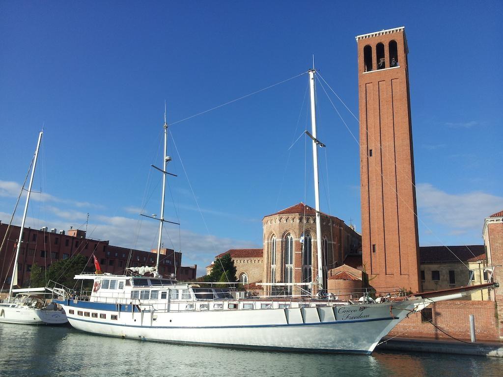 Italy, Venezia. Yacht DIVA