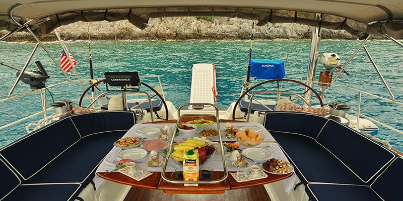 Turkey, Fethiye. Jeanneau Odyssey 54 DS