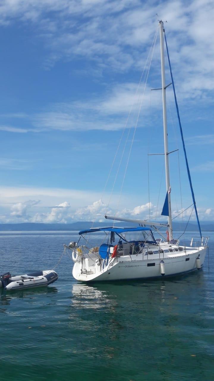 Panama, Bocas. Beneteau