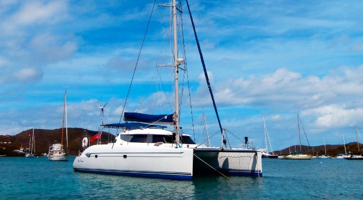 Grenada, St George. Luxury Catama..