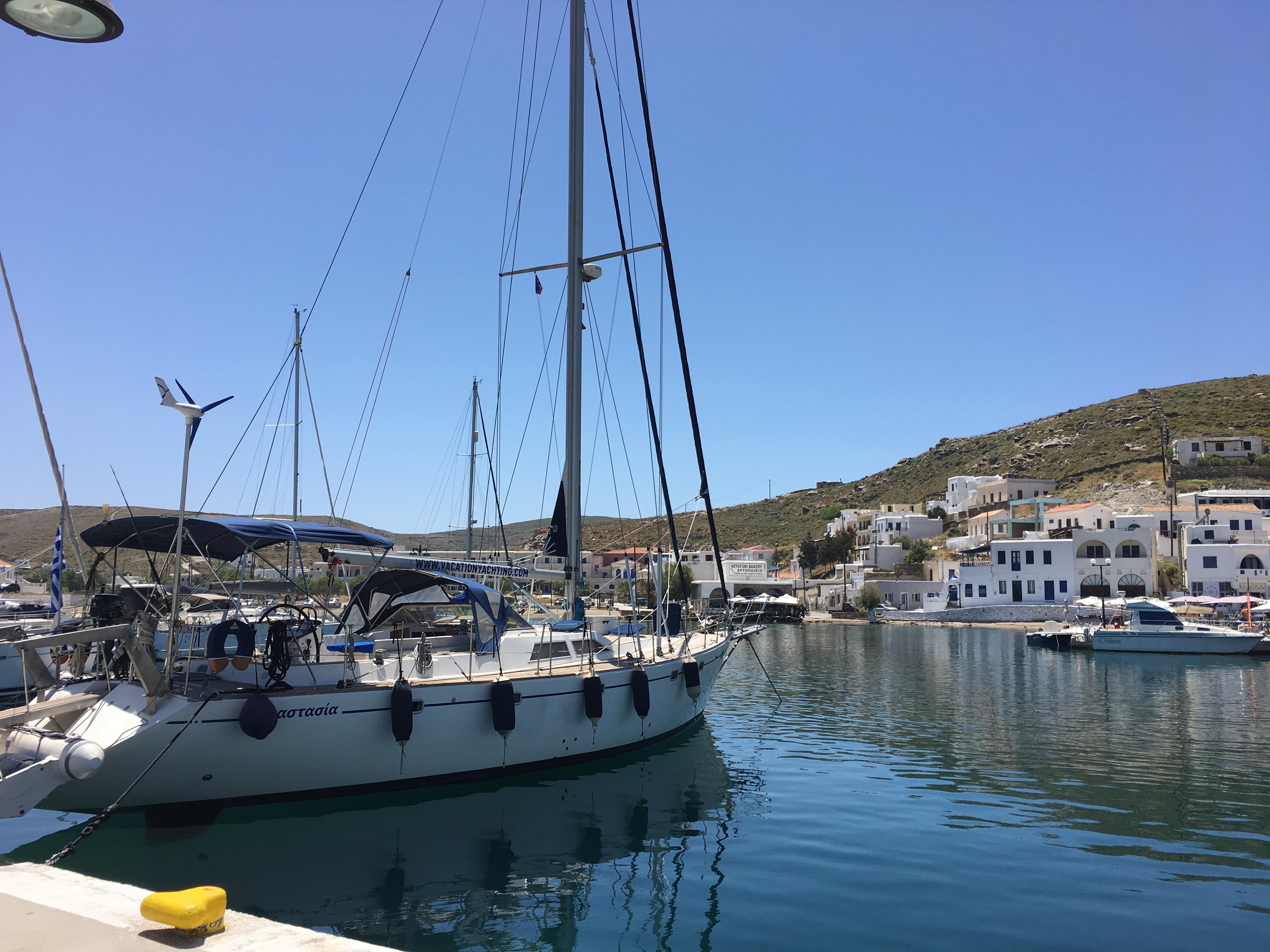 Greece, Mykonos. 61' sailing yacht