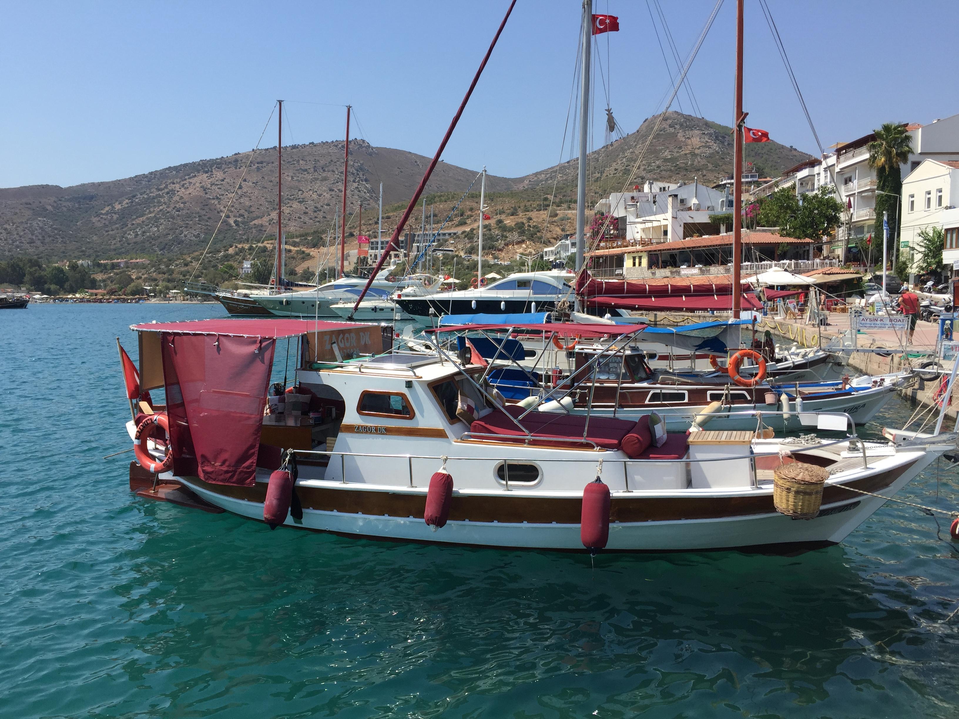Turkey, Datça harbour. ZAGOR DK