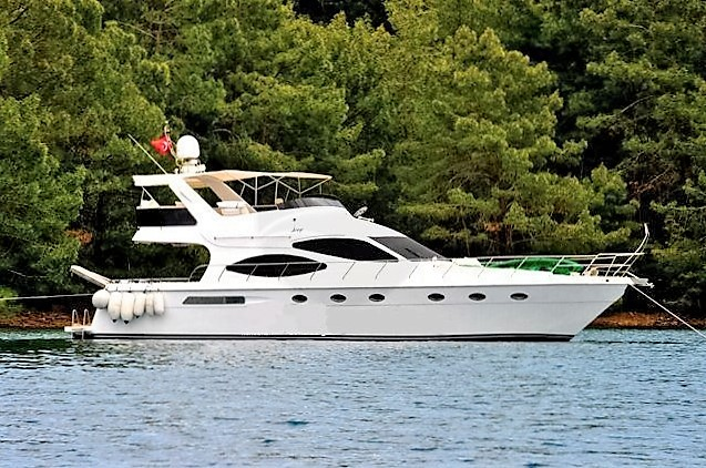 Turkey, Bodrum. Motoryacht rental