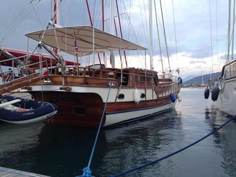 Turkey, Fethiye, Ece Marina.