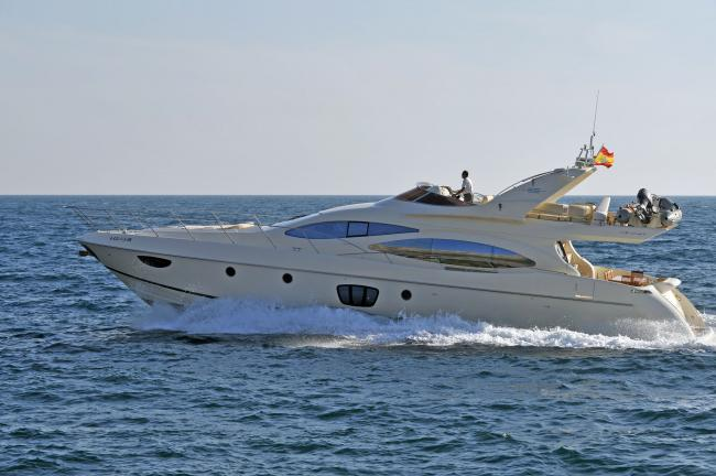 Spain, Ibiza. Azimut 68' for charter in Balearics