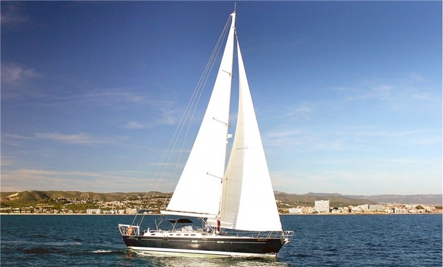 Spain, Palma de Mallorca. Beneteau 57' for charter in Baleari