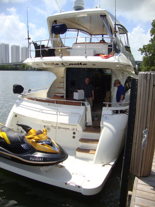 USA, Florida, Miami Beach, Marquis Yachts