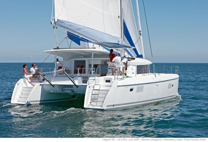 Greece, Kos. Lagoon Catamaran 4 c..
