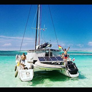 Panama, San Blas. Catamaran 40ft ..