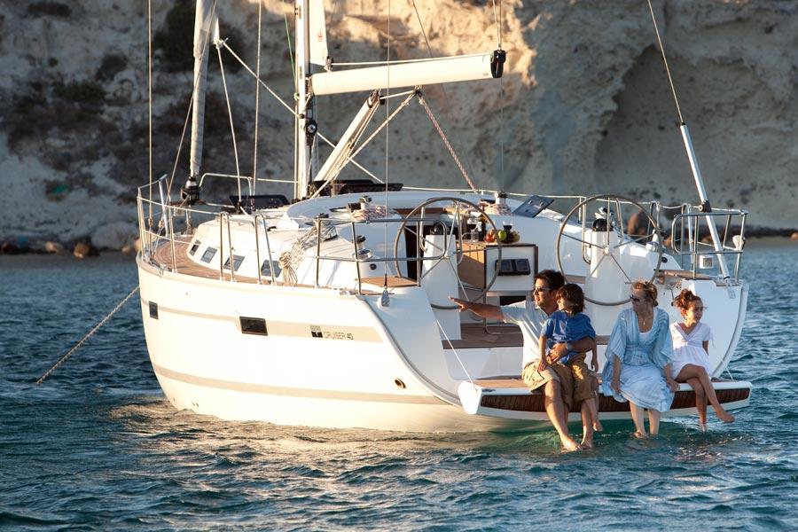 Greece, Piraeus. Bavaria Cruiser 40ft