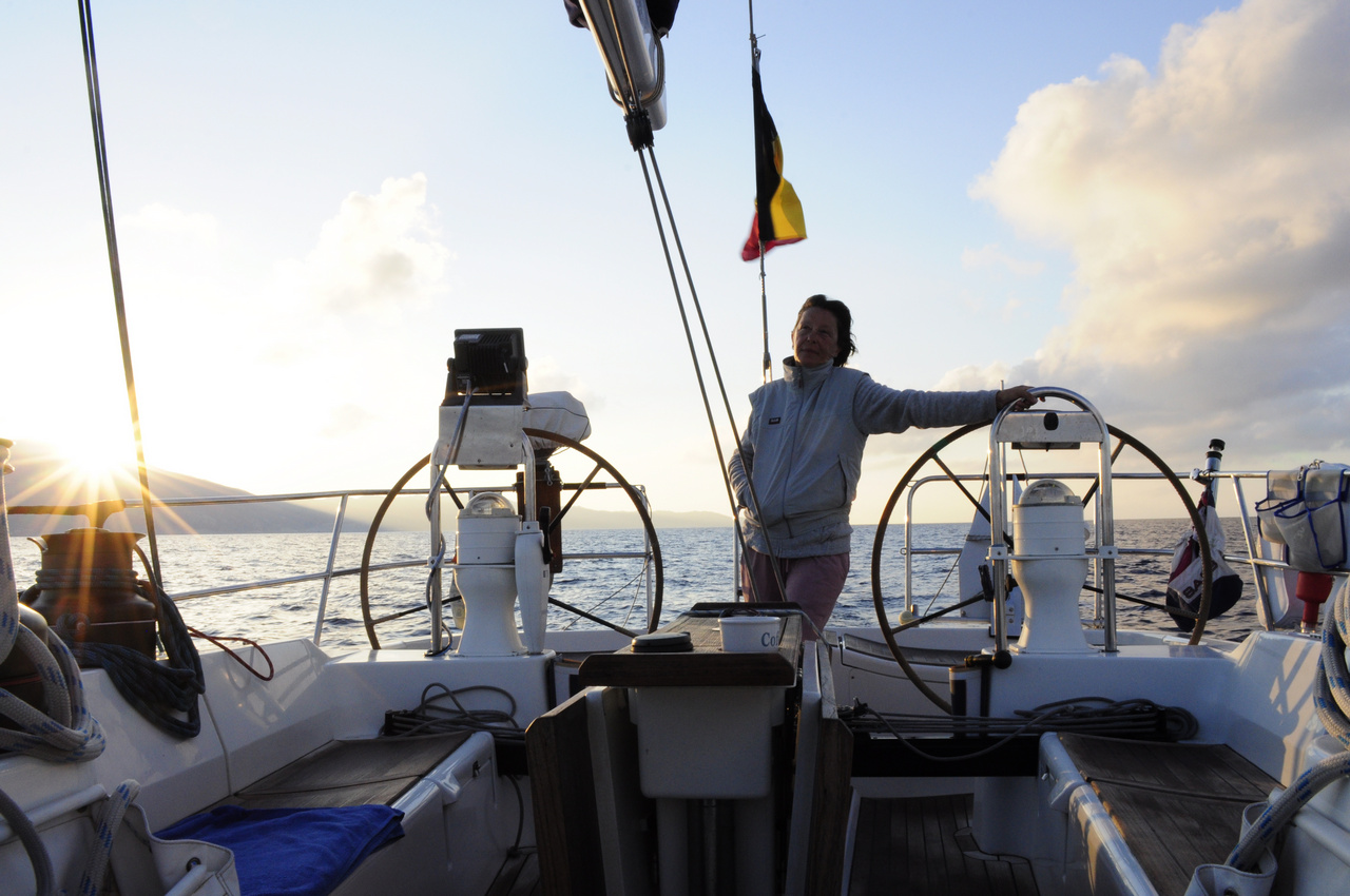 Saint Vincent. Sailing Caribbean