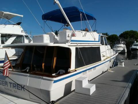 United States, Ft Lauderdale. Magnificant 46ft Motoryacht