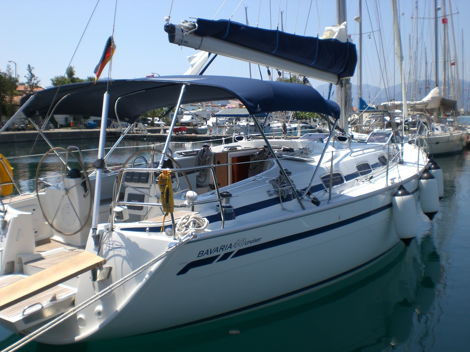Turkey, Marmaris. Bavaria 40 Cruiser