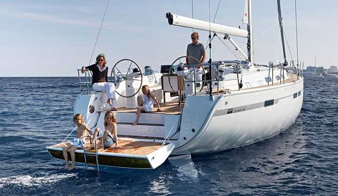 Greece, Athens, Marine Alimos. BAVARIA 45 CRUISER