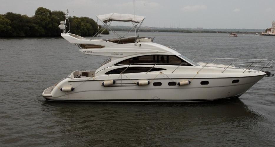 India, Goa, Calangute. Private Luxury Yachts & Cruise Goa
