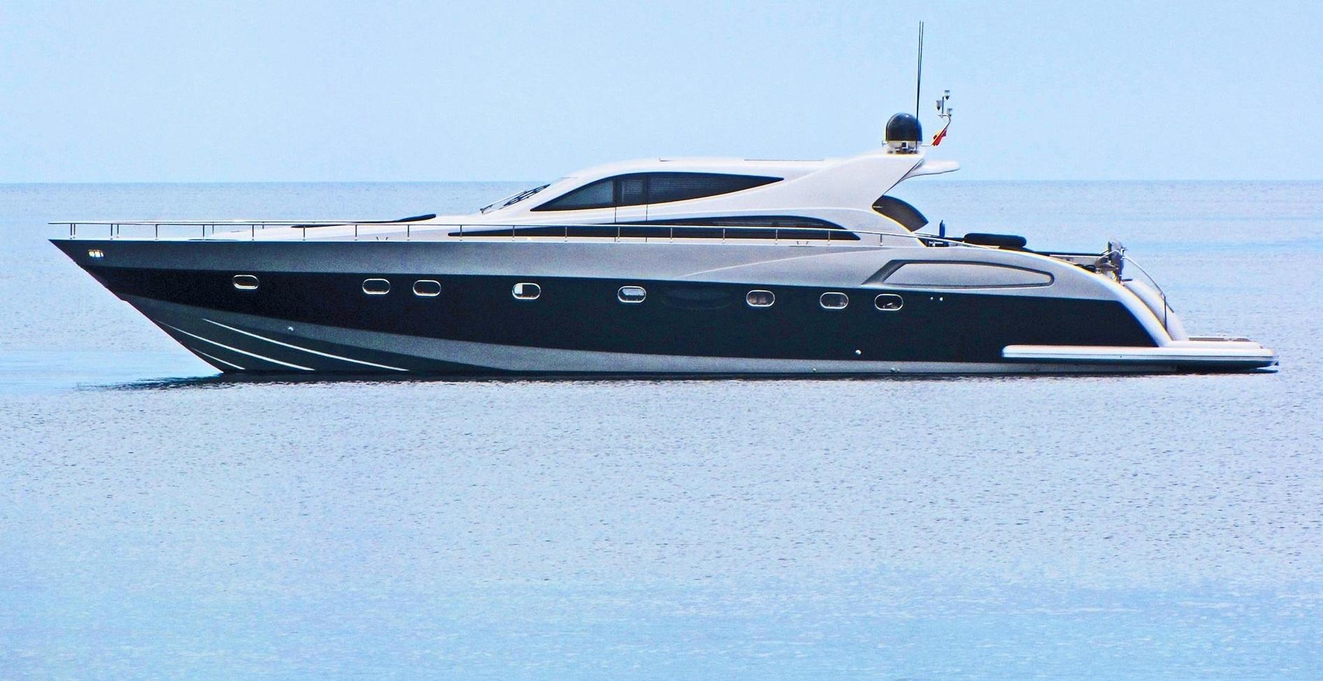 Spain, Palma de Mallorca. Alfamarine 78'