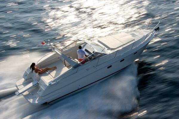Italy, Amalfi. Fiart 32 ft open boat