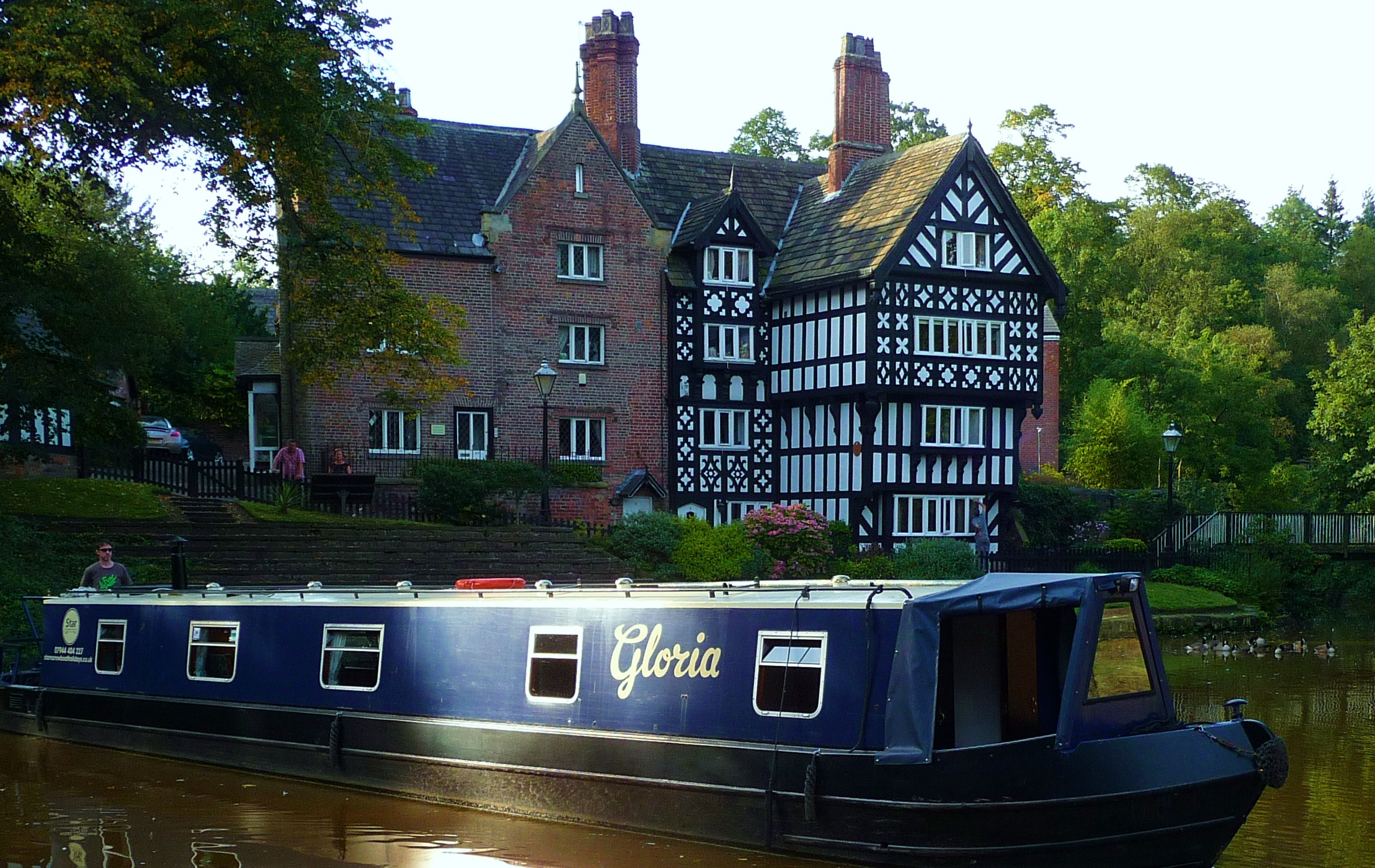 United Kingdom, Manchester. 'Gloria '  Star Narrowboat Holidays