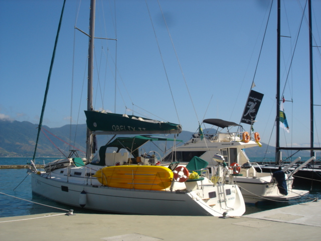 Brazil, Angra dos Reis. Sailing Boat 42 Feet