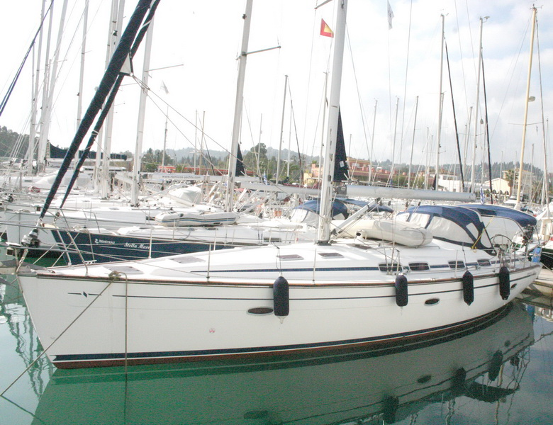 Greece, Corfu, Gouvia Marina. BAVARIA CRUISER 46.
