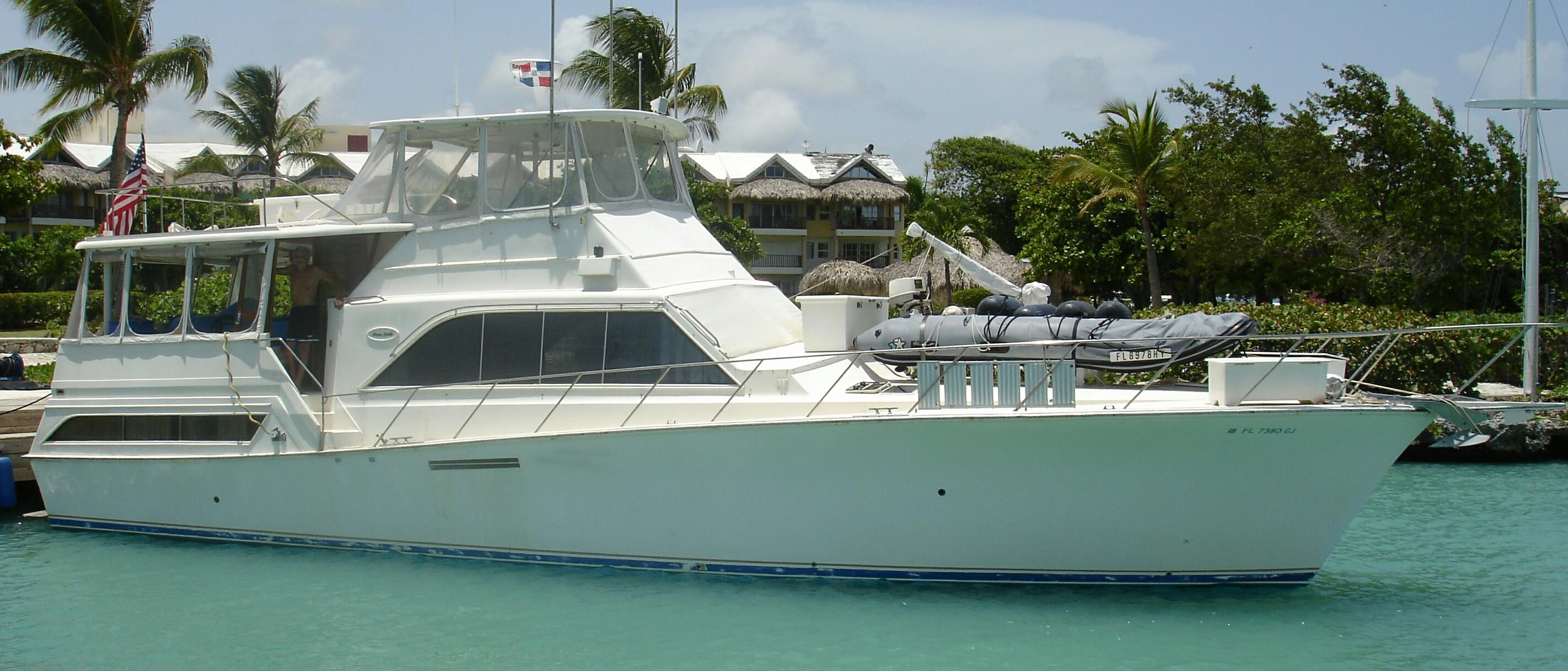 Panama, Contadora. Fantasy boat