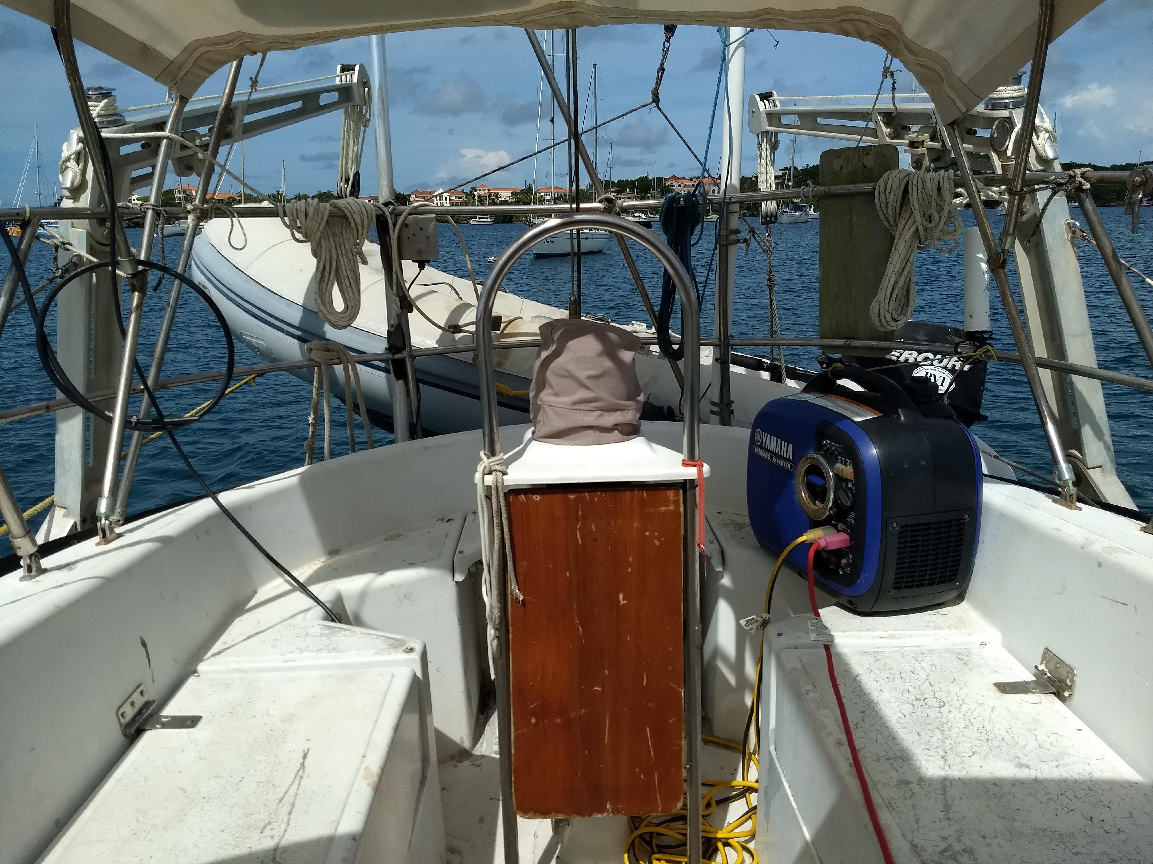 Grenada, Prickly Bay Marina. Corb..