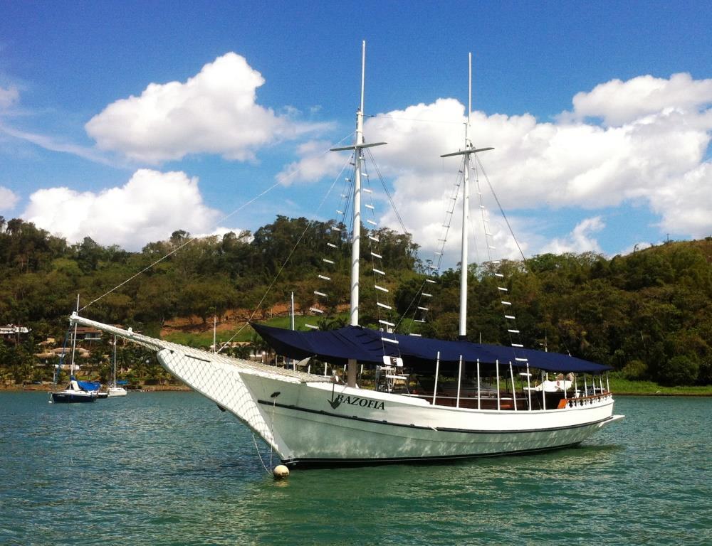 Brazil, Marina Farol de Paraty, Pier 1 - Paraty - Rio de Janeiro. Luxury Schooner - Paraty Angra Reis