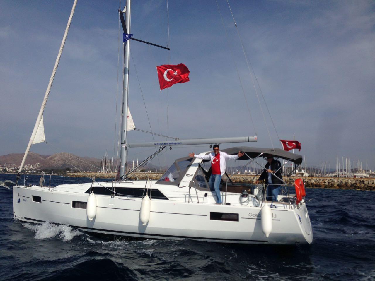 Turkey, Bodrum. Beneteau Oceanis 41,1