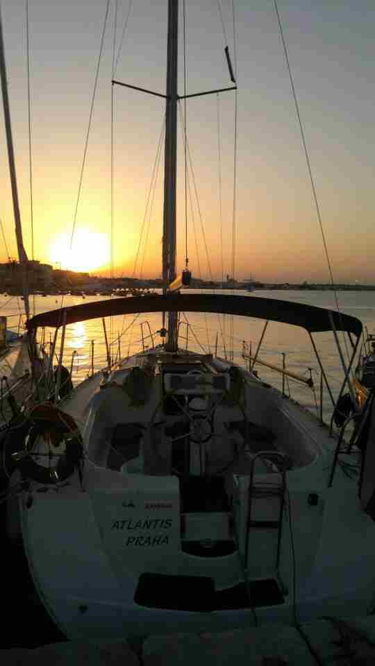 Italy, Venice, Marina del Cavalli..