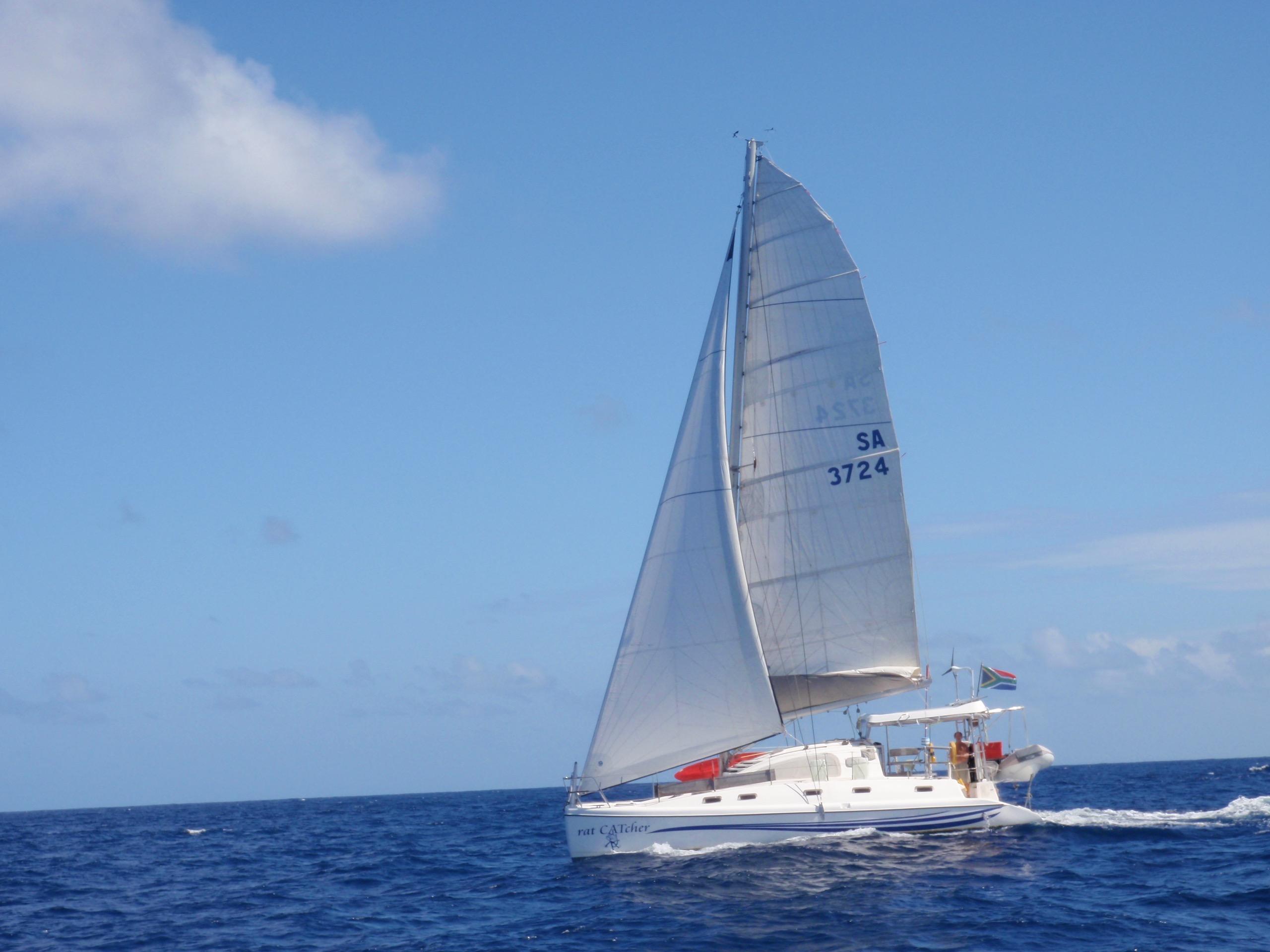 United States, Florida. Catamaran Cabin Charters