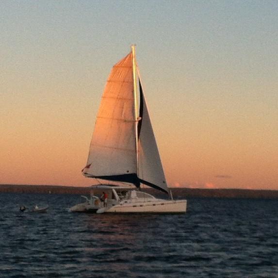 Canada, Toronto. Great 43 ft sailing catamaran