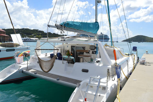 U.S. Virgin Islands, American Yacht Harbor. SV MarVyn
