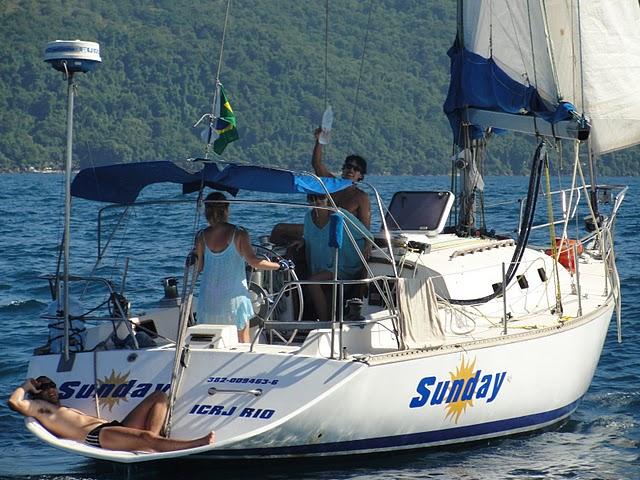 Brazil, Rio de Janeiro - Sailboat 40'