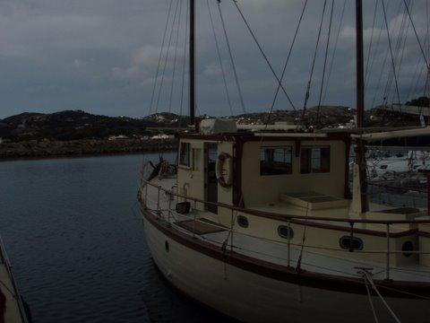 Greece, Lakki Harbour. HISTORIC T..