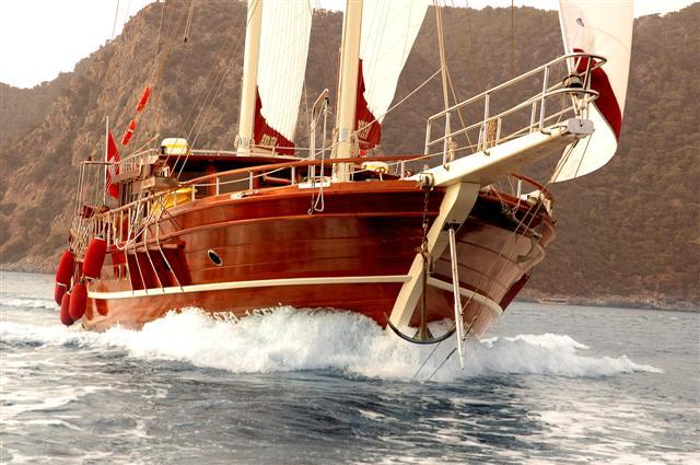 Turkey, Mugla. luxury gulet charter
